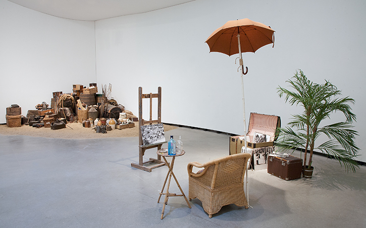 Mark Dion, Wayward Wilderness (installation view), Marta Herford, Herford, Germany, October 24, 2015 – February 7, 2016