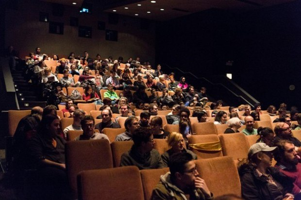 A busy screening at Gene Siskel Film Center in Chicago.