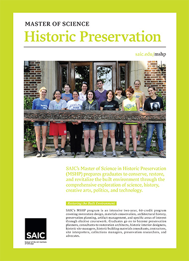 Historic Preservation Brochure Cover
