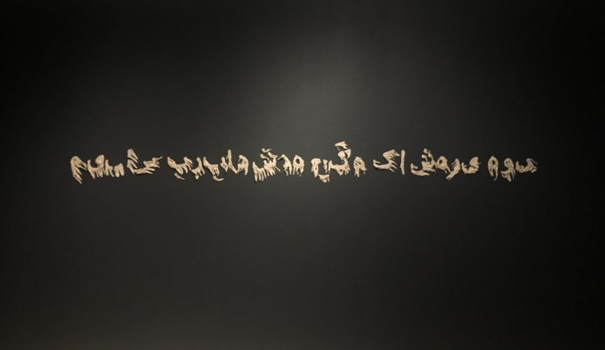 Shaurya Kumar , Porcelain , I am a citizen of that ruined place, Size variable, Gallery Threshold