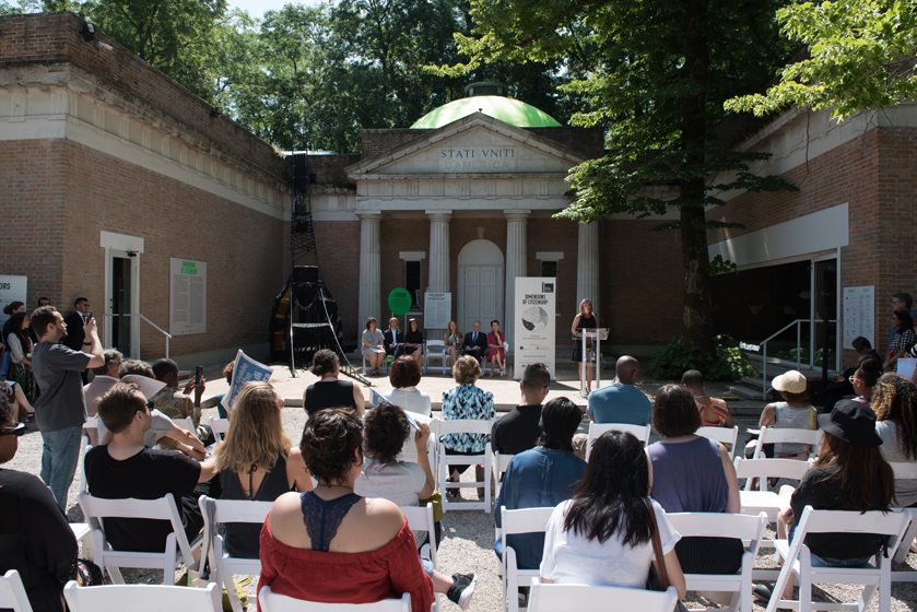 Us pavilion presents dimensions of citizenship at the th