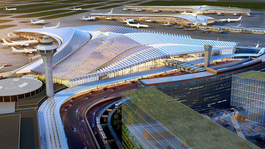 The O'Hare International Airport expansion proposal by Studio ORD.