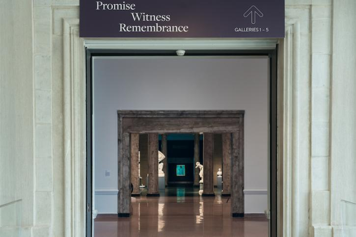 A gallery image of the exhibition Promise, Witness, Remembrance