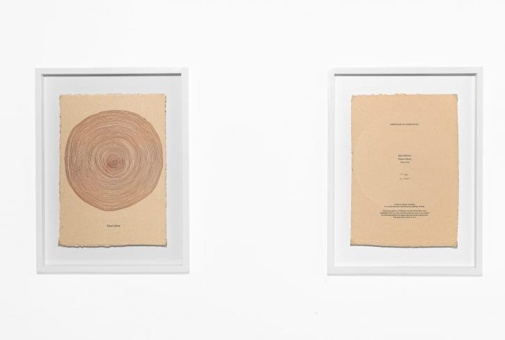 Katie Paterson, Future Library certificates, 2015. Photo © Blaise Adilon. Future Library (2014-2114) by Katie Paterson is commissioned and produced by Bjørvika Utvikling, and managed by the Future Library Trust. Supported by the City of Oslo