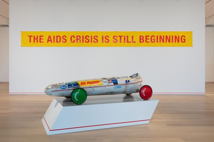 Installation view, Gregg Bordowitz: I Wanna Be Well, The Art Institute of Chicago, 2019.