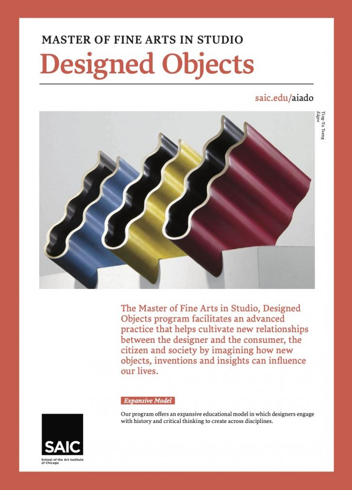 MFA Designed Objects Brochure Cover