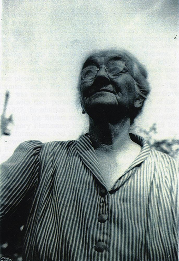 Brown's great grandmother, Mary Dizenia Palmer, known as Mammy