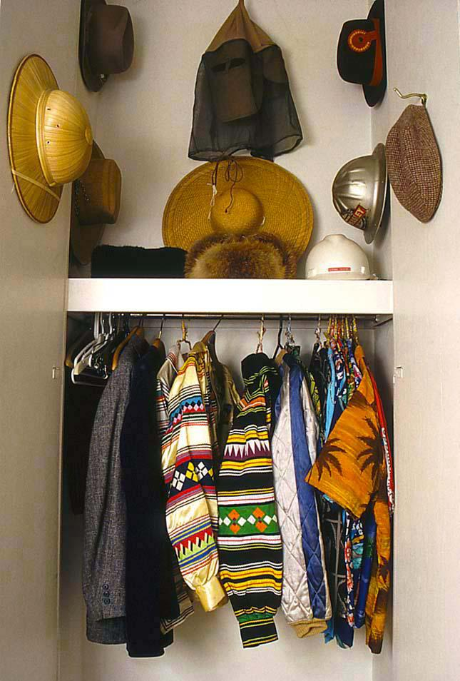 Closet in the Roger Brown Study Collection