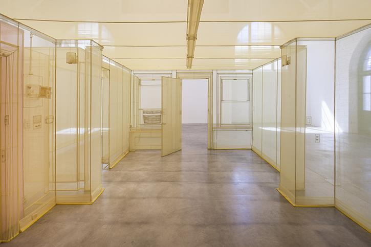 Do Ho Suh, Apartment A, Unit 2, Corridor and Staircase, 348 West 22nd Street, New York, NY 10011, USA, Apt. A: 2011-2014