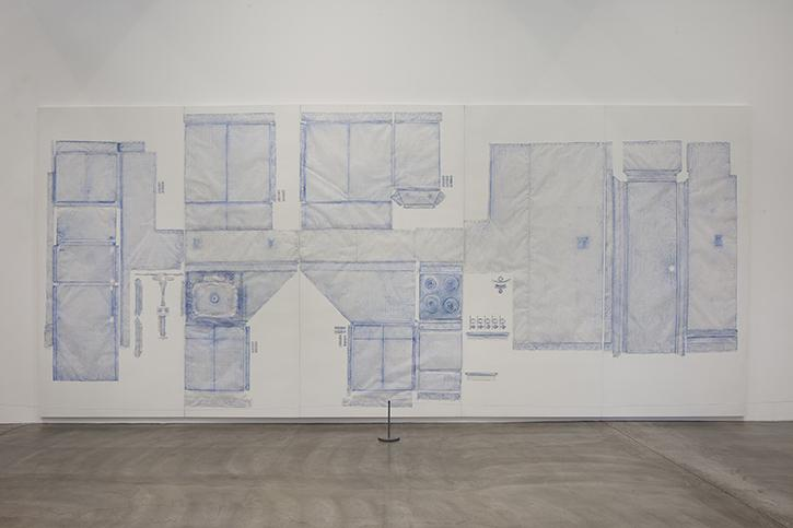 Do Ho Suh, Rubbing/Loving Project: Kitchen, Apartment A, 348 West 22nd Street, New York, NY 10011, USA, 2014