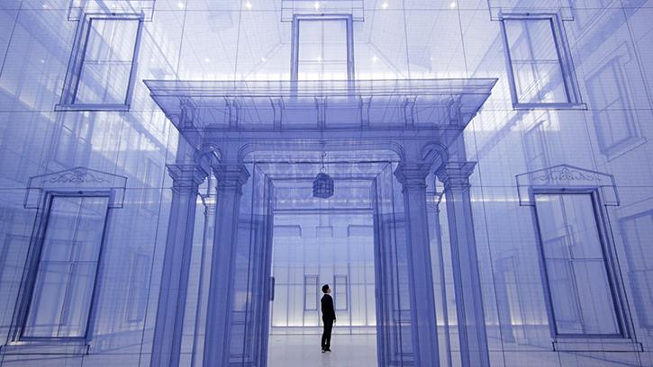 Do Ho Suh, Home within Home within Home within Home within Home (detail), 2013