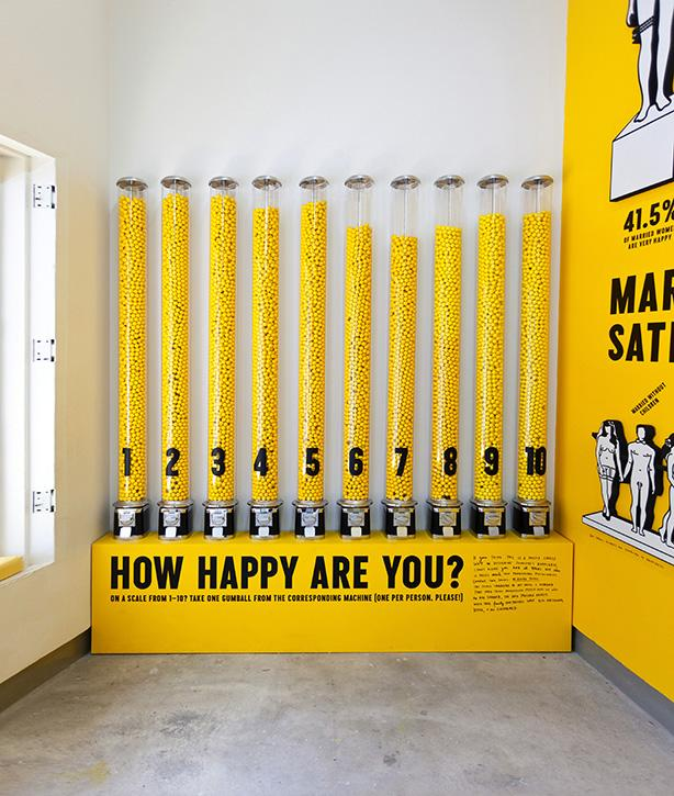 Stefan Sagmeister: The Happy Show, 2012