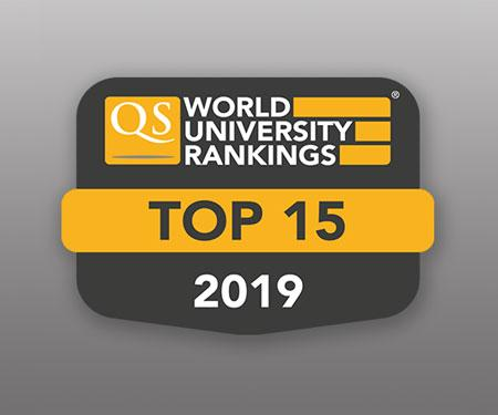 QS World University Top 15 Rankings Badge-Small