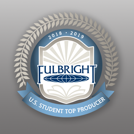 SAIC Named the Top Producer of Fulbright Students for 2018–19
