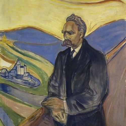 Painting of man to be discussed at Nietzsche on Art lecture