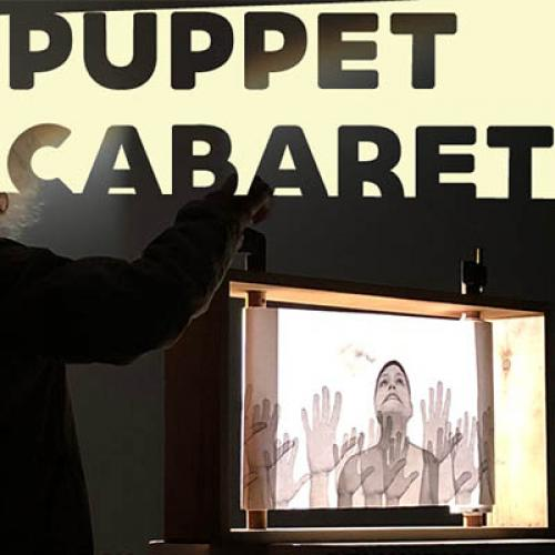 Image of puppet performance