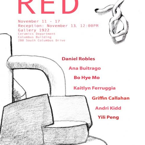 Poster for gallery reception