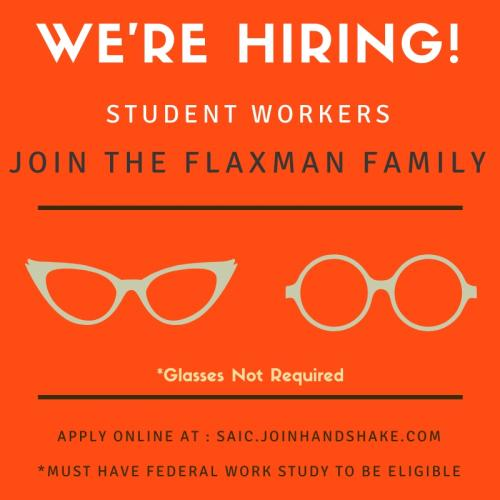 Flaxman Library: we're hiring!