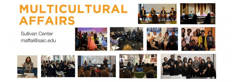 Compilation of events hosted by Multicultural Affairs and Student Affinity Groups