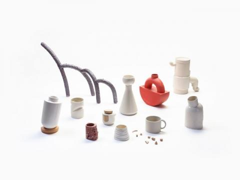 SAIC ceramics at Sight Unseen