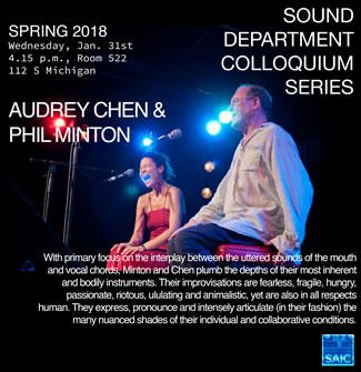 Audrey Chen and Phil Minton performing