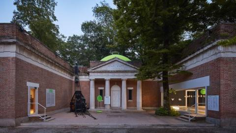 Photo of the US pavilion at this year's Venice Architecture Biennale courtesy of Tom Harris