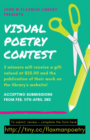 Visual Poetry Contest Poster