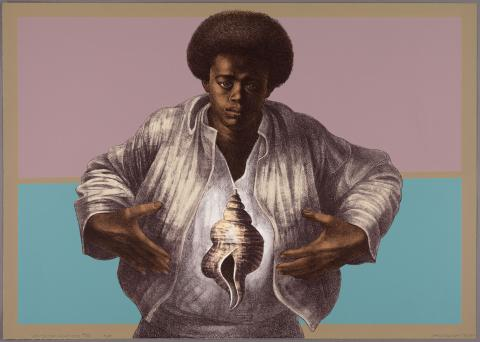 Charles White, Sound of Silence, 1978