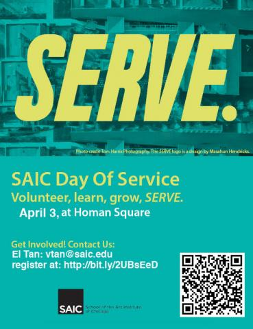 Day of Service Poster and Link to Sign Up
