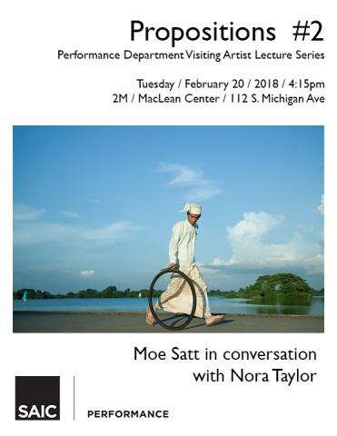 Propositions #2 - Moe Satt in conversation with Nora Taylor
