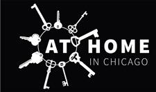 Logo for At Home In Chicago consortium