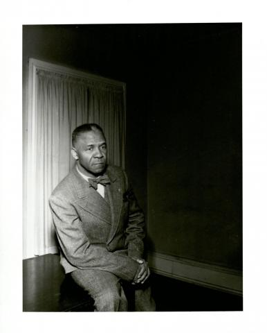 Portrait of Dox Thrash by an unidentified photographer c. 1950