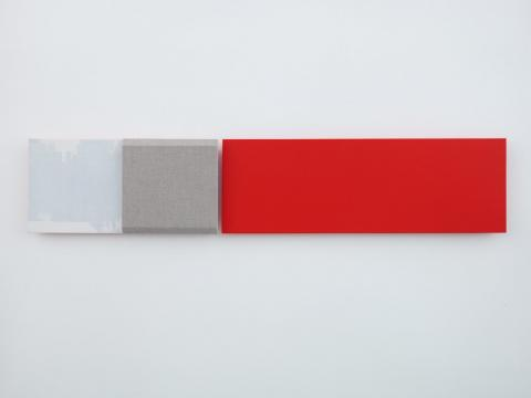 Jennie C. Jones, Red Measure, Muted and Clipped