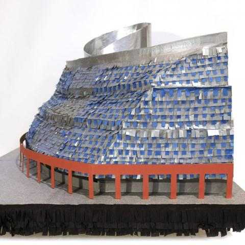 Chelsea Lombardo's recreation of the Thompson Center as piñata.On Monday, a trio of historic preservationists trying to save the Thompson Center will open an exhibition to broaden the public's understanding and (perhaps) appreciation of the building. (H