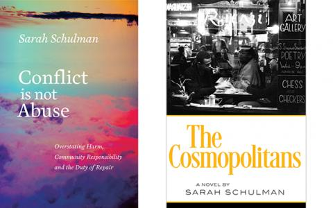 Sarah Schulman, Cover Art
