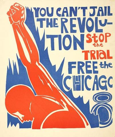 Free the Chicago 8 poster