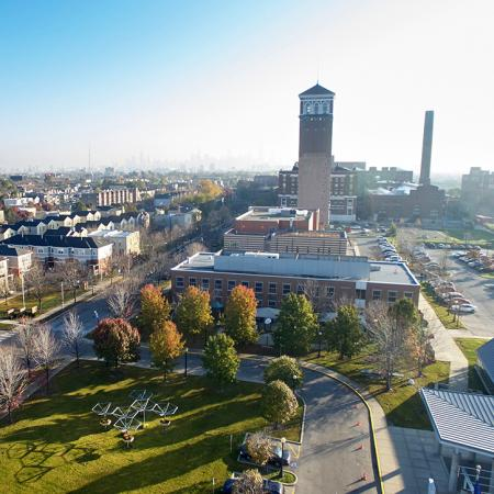 Aerial View of Homan Square
