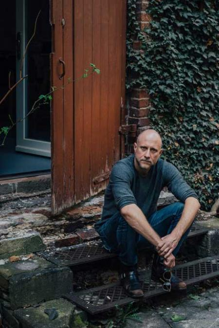 Trevor Paglen at his studio in Berlin. Photograph by Mustafah Abdulaziz for The New York Times