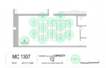 Floor Plan for MC 1307