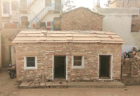 Abdul Mubeen and Mohammed Shafeeq's house after renovation. (Photo: Architectural Heritage Division, INTACH)