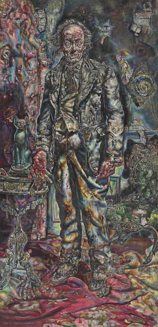 Ivan Albright. Picture of Dorian Gray, 1943–44. Gift of Ivan Albright. © The Art Institute of Chicago.