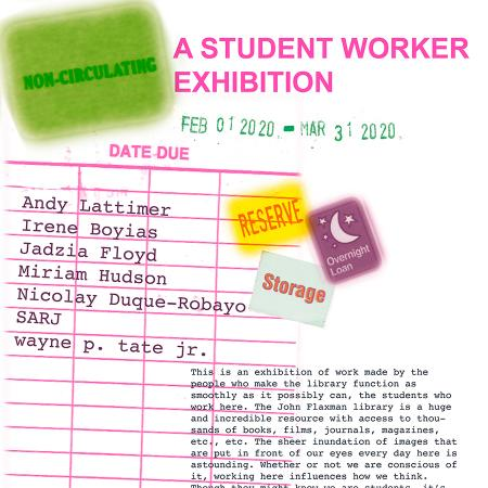 Flaxman Library Student Worker Exhibition
