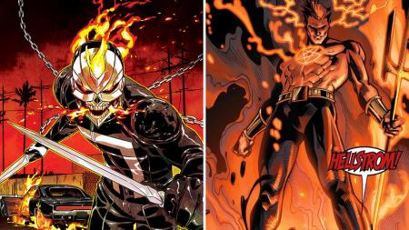 Ghost Rider and Helstrom are coming to Hulu. Courtesy of Marvel