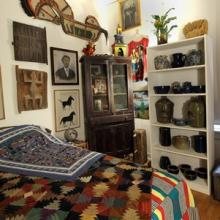 Image from inside the Roger Brown Study Collection