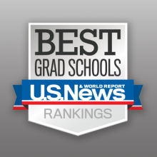US News and World Report Best Grad School Badge Small
