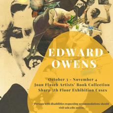 edward owens exhibition is happening october 3 through november 4