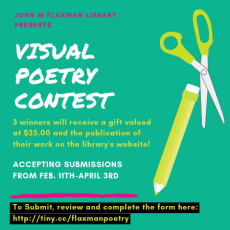 Visual Poetry Contest Announcement