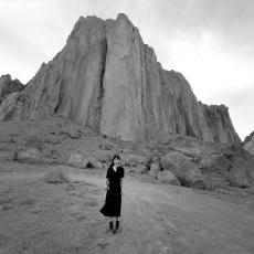 Shirin Neshat, Land of Dreams, 2019. Single-channel video installation, HD video monochrome. Duration: 25 minutes and 19 seconds. Courtesy of the artist and Gladstone Gallery, New York and Brussels.
