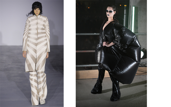 Gareth Pugh, 2017 Autumn/Winter Collection and 2017 Spring/Summer Collection