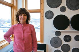 Image of SAIC Professor of Painting and Drawing and Co-Curator of the 2014 Whitney Biennial Michelle Grabner